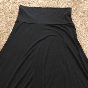 LuLaRoe black maxi size M